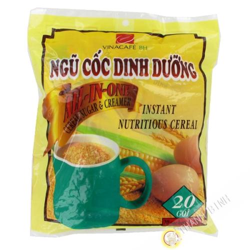 Vorbereitung getränk 5 Getreide Nutriciel VINACAFE 20x25g Vietnam