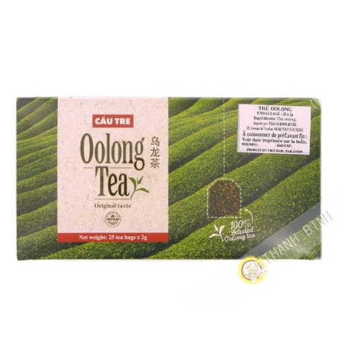 Oolong tea Cau tre bag 25x2g - Vietnam - By plane