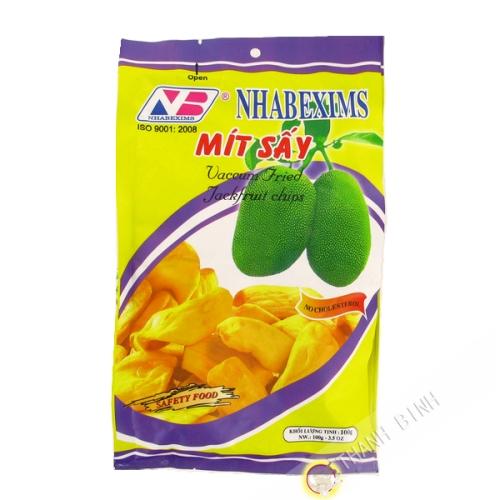 Chips de fruit du jacquier NHA BE 100g Vietnam