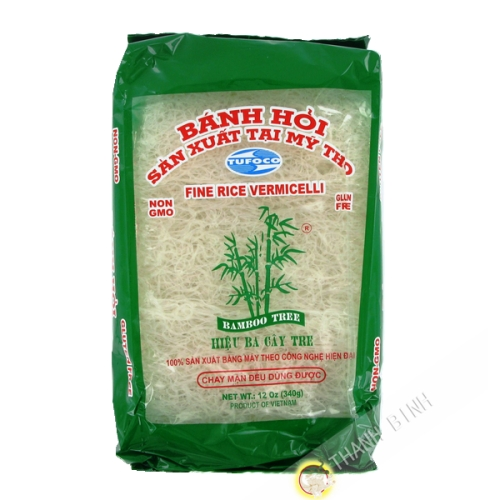 Vermicelli rice end white Bamboo 400g - Viet Nam