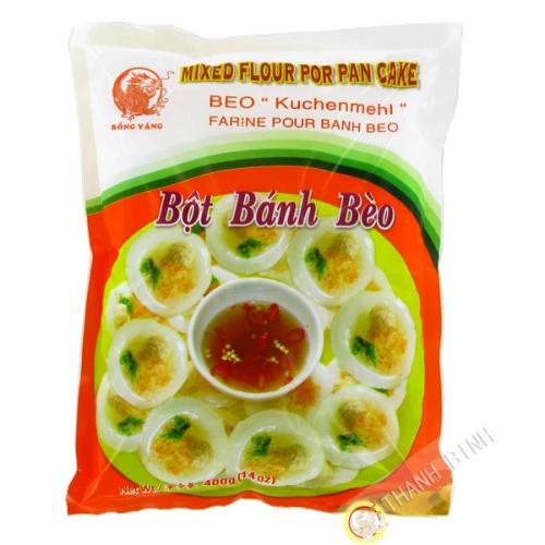 Harina, banh beo DRAGÓN de ORO 400g de Vietnam
