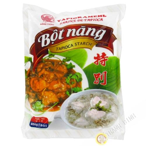 Harina de tapioca, DRAGÓN de ORO 400g de Vietnam