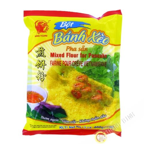 Flour pancake Banh xeo DRAGON GOLD 400g Vietnam