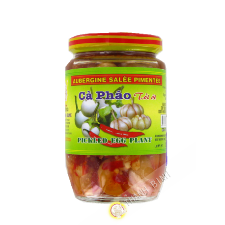 Aubergine pimenté à l ail 400g - Viet Nam