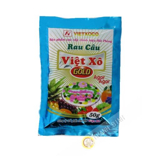 Agar agar en poudre VIET XO 25g Vietnam