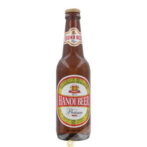 Beer Hanoi bottle HABECO 330ml Vietnam