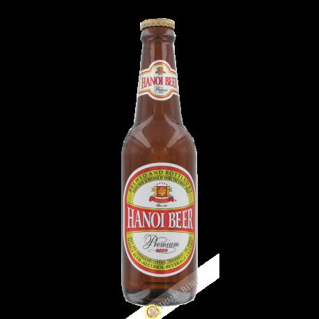 Birra Hanoi bottiglia HABECO 330ml Vietnam