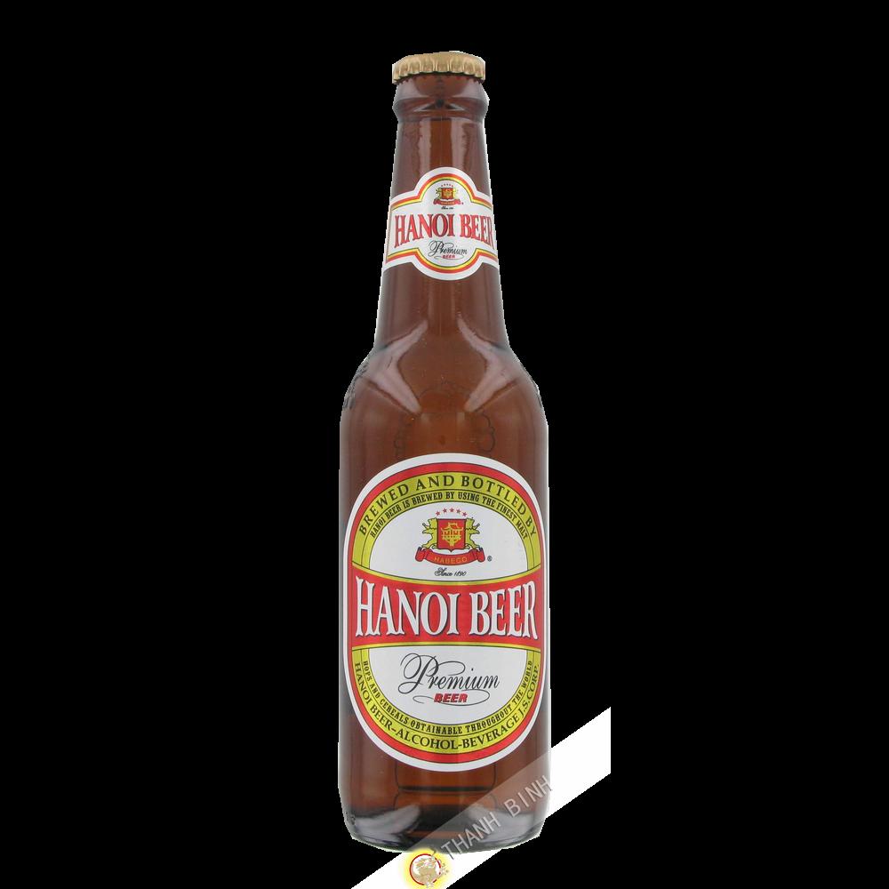 Bière Hanoi bouteille HABECO 330ml Vietnam