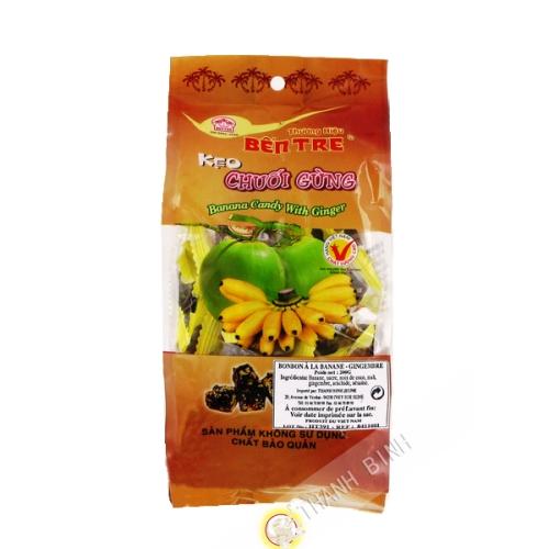 Bonbon banane & ingwer BEN TRE 200g Vietnam