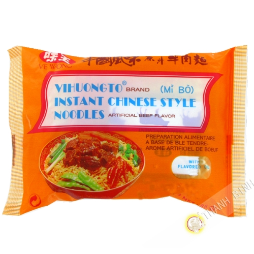 Soup noodle with beef VE WONG 85g Taiwan