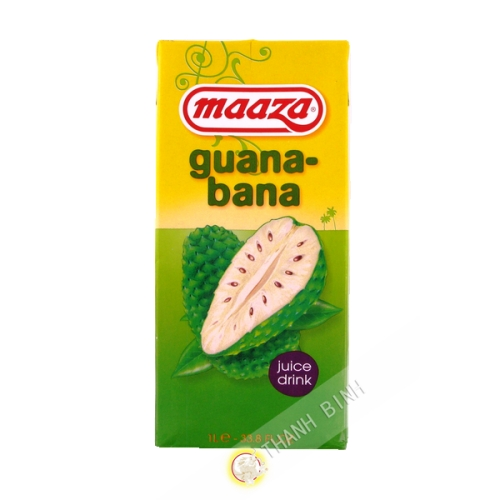 La guayaba jugo de banana Maaza 1L HL