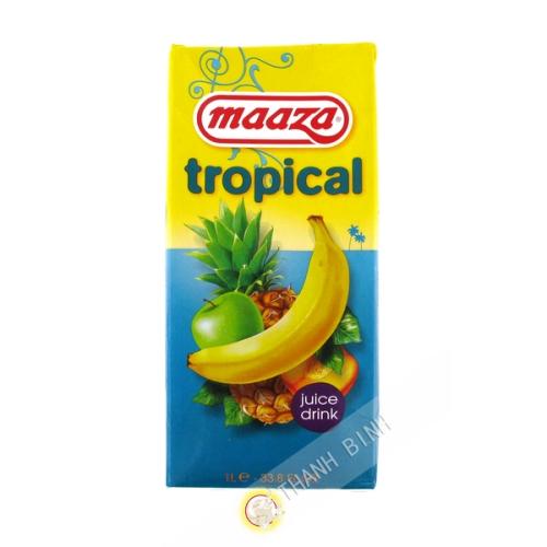 Los jugos de frutas tropicales Maaza 1L HL