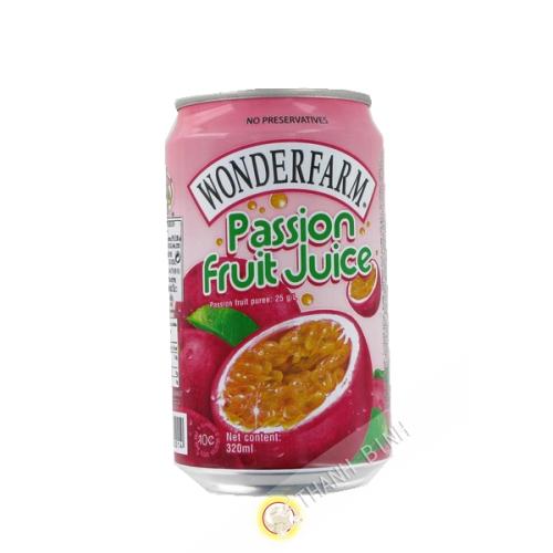 Bebidas a base de frutas de la pasión WONDERFARM 320ml de Vietnam