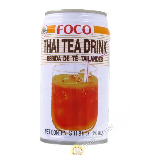 Beber té de leche Tra sua FOCO 350ml Tailandia