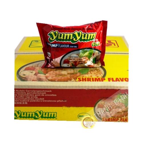 Zuppa di instantanee Yumyum gamberetti 30x60g - Thailandia