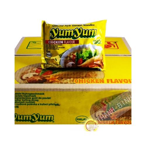Sopa de instantanee Yumyum pollo 30x60g - Tailandia