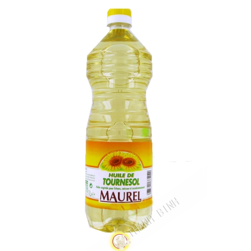 Oil sunflower MAUREL 1L France
