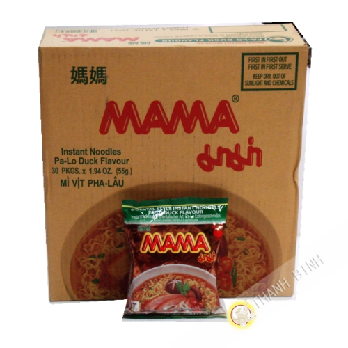 Soup noodle duck MAMA Cardboard 30x60g Thailand