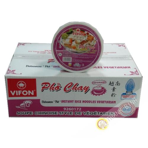 Soup pho vegetarian Bowl VIFON cardboard 12x70g Vietnam