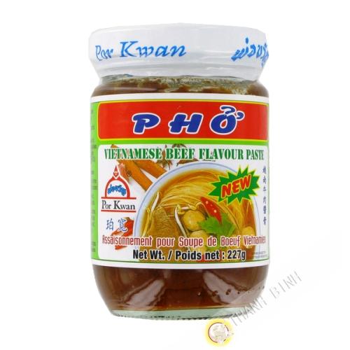 Preparation soup Pho beef POR KWAN 227g Thailand