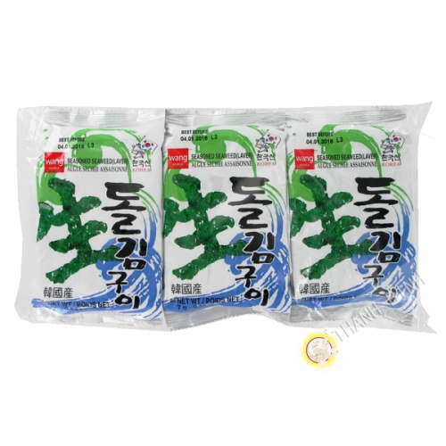 Las algas marinas a la parrilla instantánea 25.5 g - Corea
