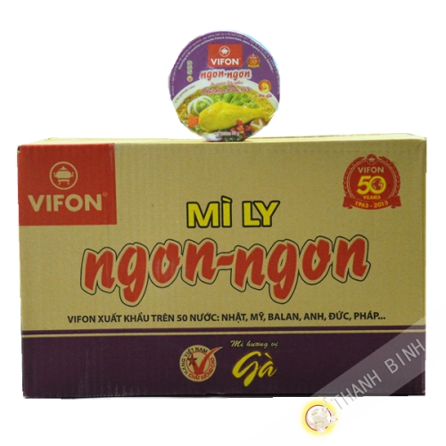 Soup chicken Bowl Ngon Ngon 24x60g - Viet Nam