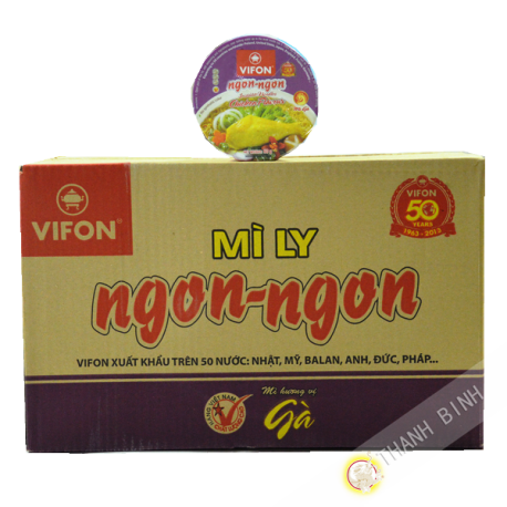 Soup chicken Bowl Ngon Ngon 24x60g - Viet Nam