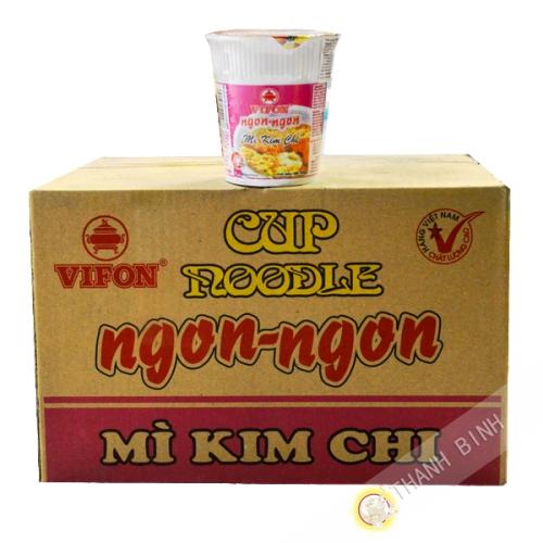Sopa de kimchi tazón Vifon 24X60g - Viet Nam
