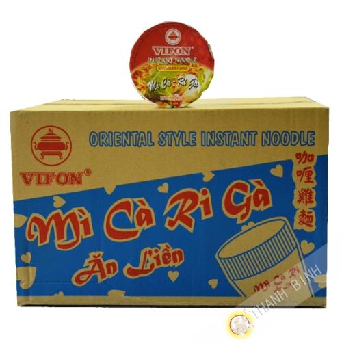 Sopa de pollo al curry Tazón Ngon Ngon 24x60g - Viet Nam