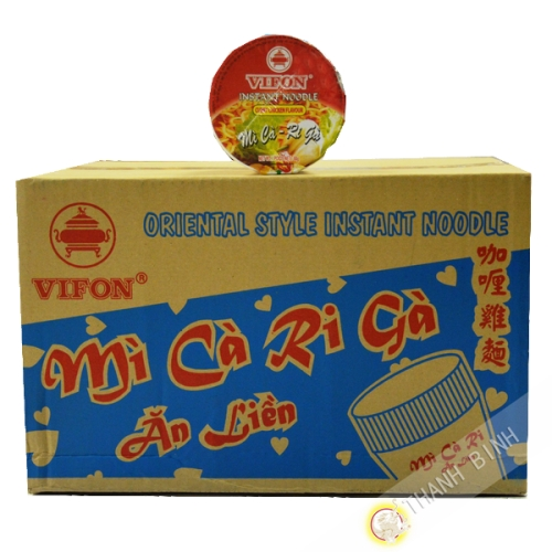 Soupe curry poulet Bol Ngon Ngon 24x60g - Viet Nam