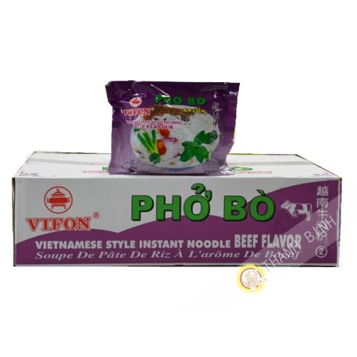 Soup pho beef VIFON cardboard 30x60g Vietnam