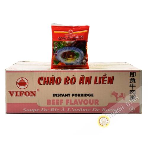 Sopa de arroz con carne de res Vifon 50x50g - Viet Nam