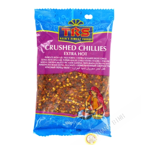 Crushed pepper red very strong TRS 100g India