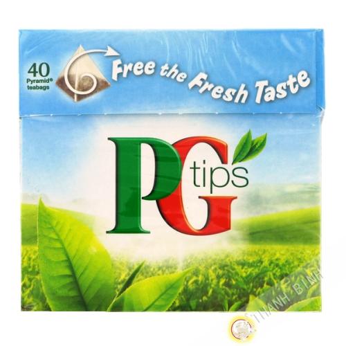 Tè indiano PG Punte di 40 bustine 125g regno Unito
