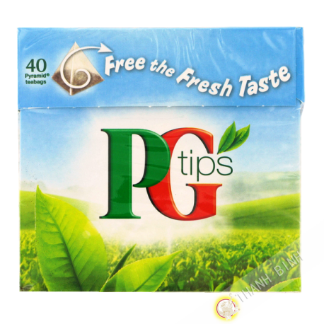Indian tea PG Tips 40 teabags 125g Uk