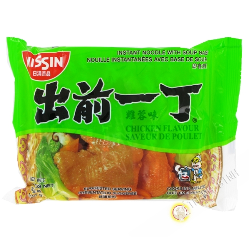 Soup noodle Ramen Demae chicken NISSIN 100g Hungary
