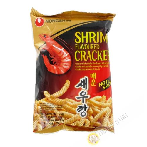 Chip de camarón picante 75g - Corea