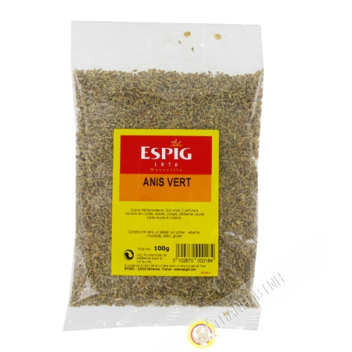 Green anise whole ESPIG 100g France