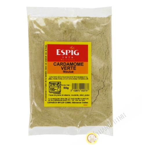 Cardamom powder 50g - UK Great Britain