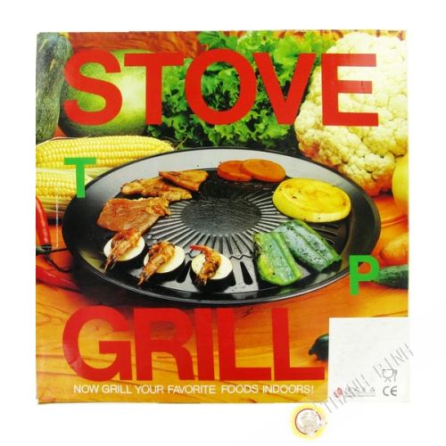Stove top grill 32cm FP113 CHK China