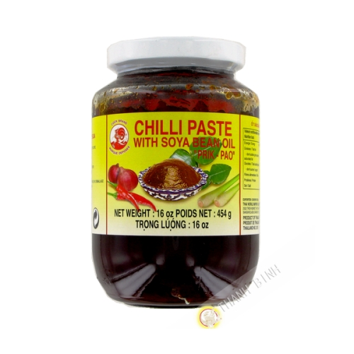 Sauce, Chile Paste Prik Pao COCK 454g Thailand
