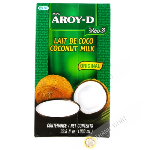 Crème de coco uht 1L