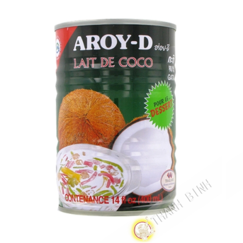 La leche de coco postres 400ml
