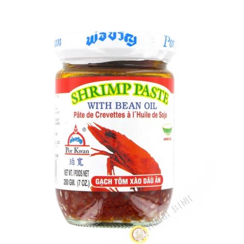 Shrimp paste, oil, soy POR KWAN 200g Thailand