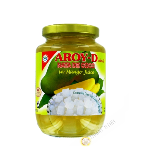 Nata de coco mango AROY-D 450g Tailandia