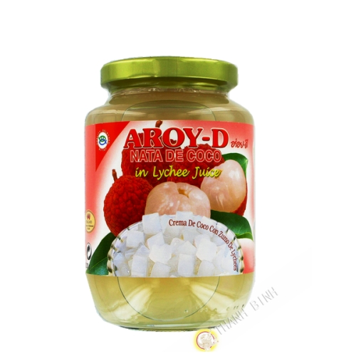 Nata coco lychee AROYG-D 450g Thailandia