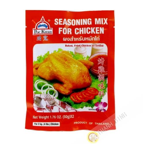 Assaisonnement pour poulet grillé 100g