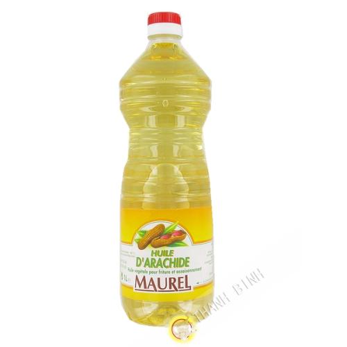 Olio di arachidi MAUREL 1L Francia
