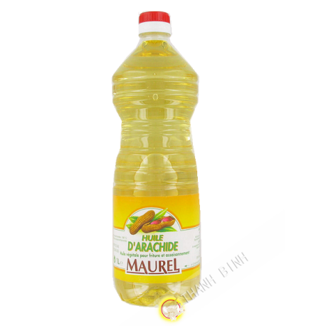 Oil peanut MAUREL 1L France