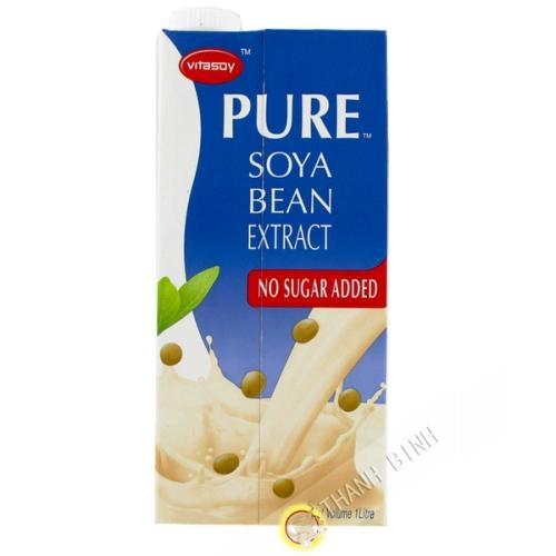 Soy milk without sugar VITASOY 1L Hong Kong